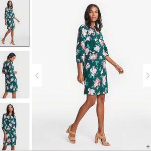 Ann Taylor Floral Shift Dress